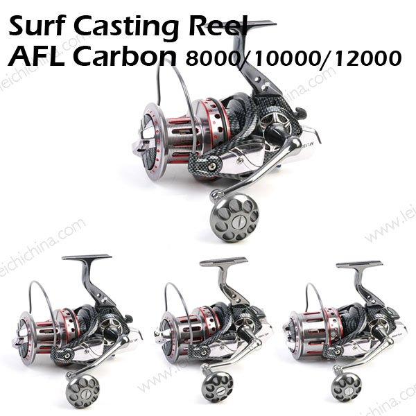 Surf Casting Reel AFL Carbon 8000 10000 12000