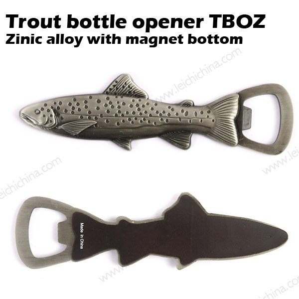 Trout bottle opener TBOZ