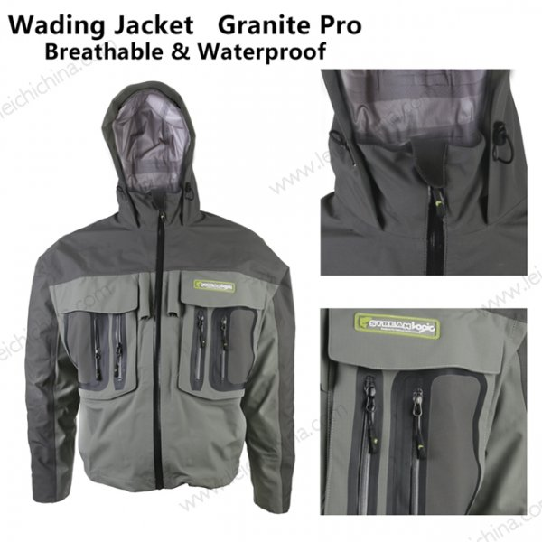 Stream-Logic Granite Pro breathable waterproof wading Jacket