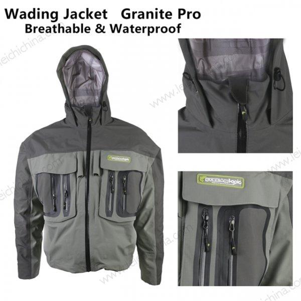 Stream-Logic Granite Pro breathable waterproof wading Jacket