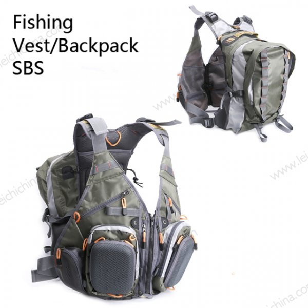 fishing vest backpack SBS
