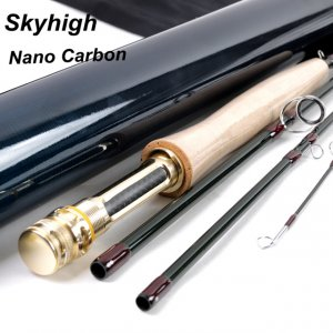 IM12/40T+46T Toray carbon Skyhigh fly rod