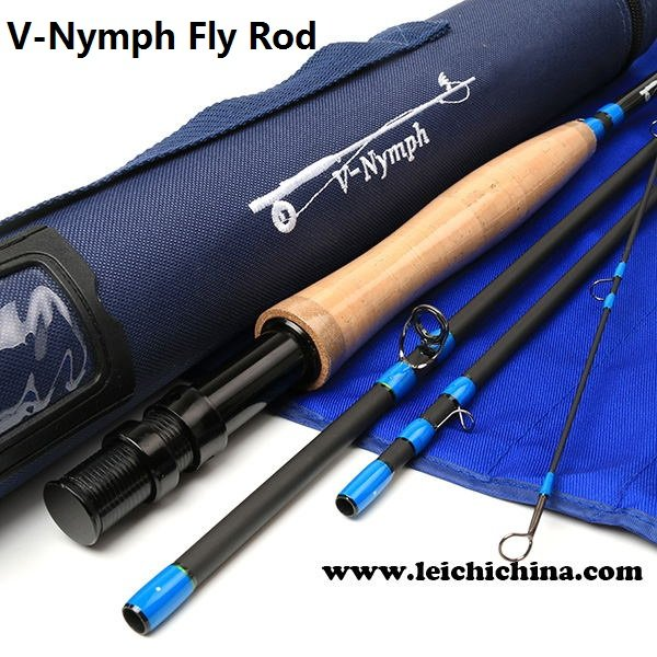 IM8/30T+36T SK carbon nymph fly rod V-Nymph Series