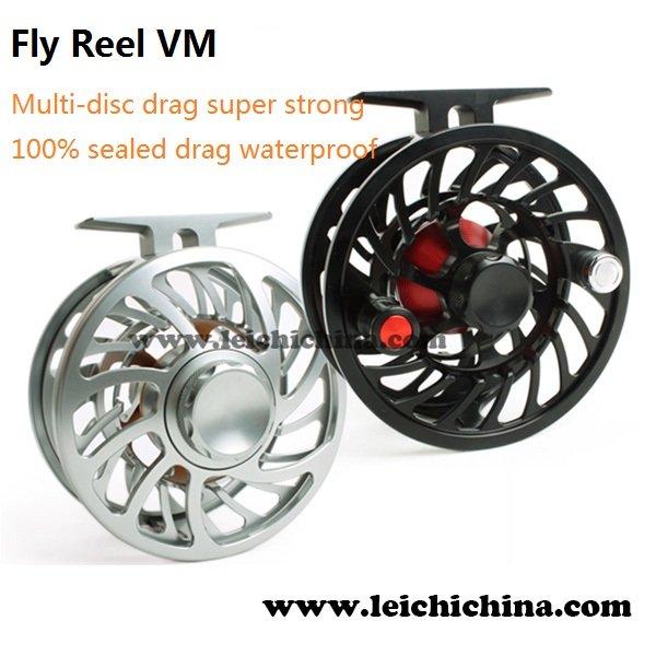 CNC Machine Cut Saltwater Sealed Drag Waterproof Fly Reel VM