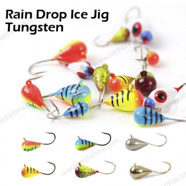 Rain Drop Ice Jig Tungsten