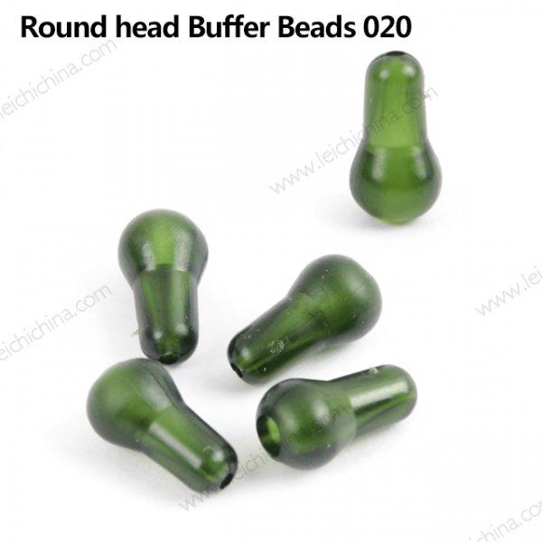 CRHB 020 round head buffer beads