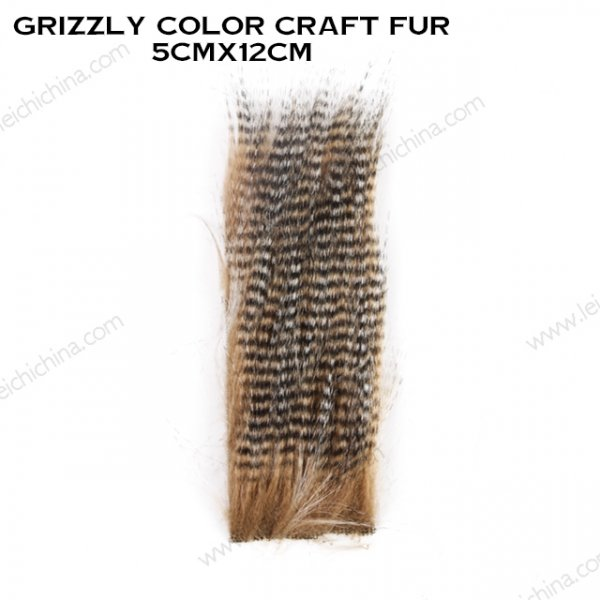 Grizzly Color Craft Fur