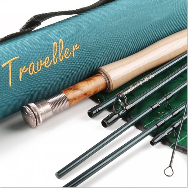 IM8/30T+36T SK Carbon Fly Rod V-Traveller Series