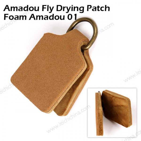 Amadou Fly Drying Patch Foam Amadou 01
