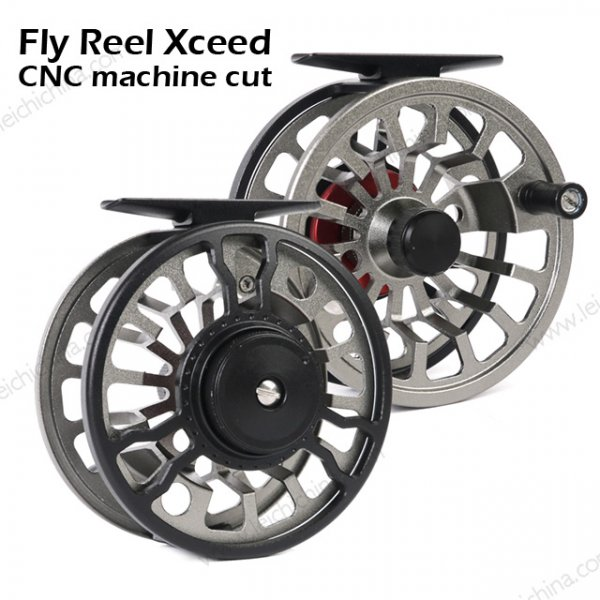 Fly Reel Xceed  CNC machine cut