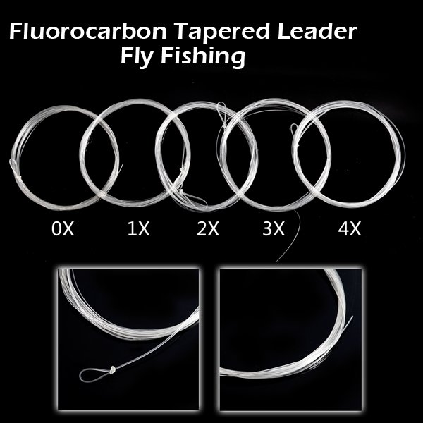 Fluorocarbon Tapered Leader Fly Fishing