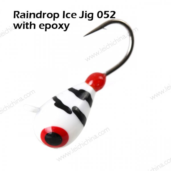 Raindrop Ice Jig 052 with epoxy