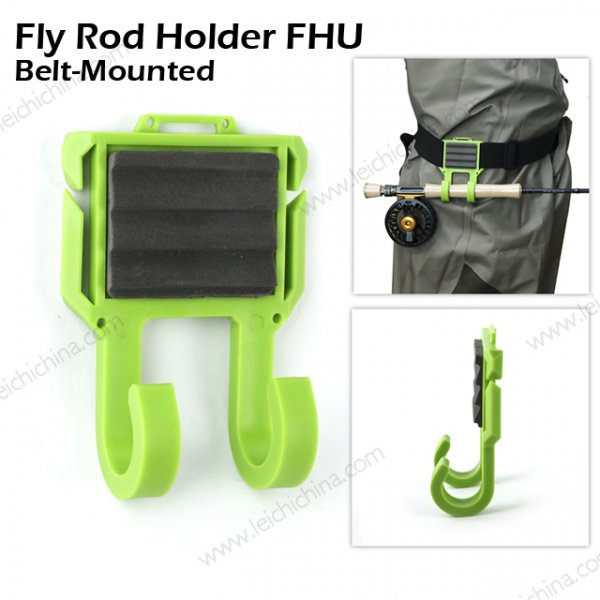 Belt Mounted Fly Rod Holder FHU