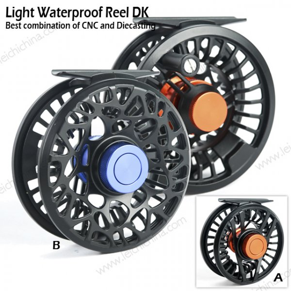 Light Waterproof Fly Reel DK