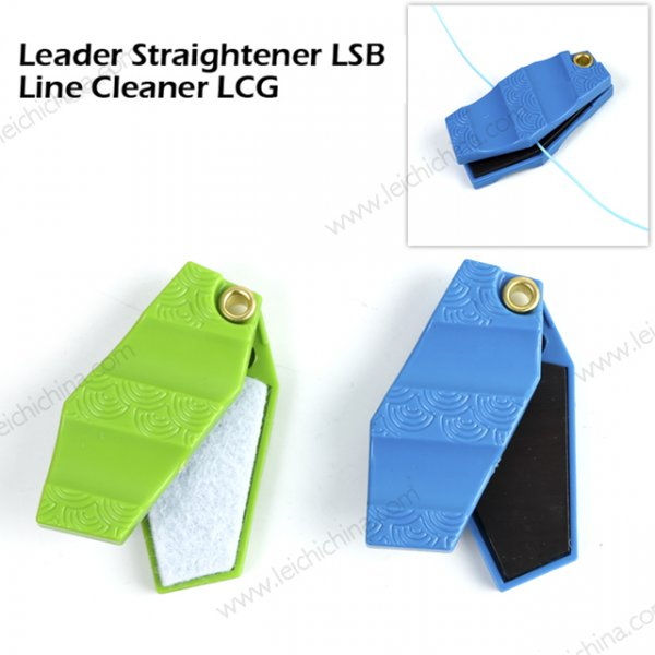 fly fishing leader straightener and line cleaner