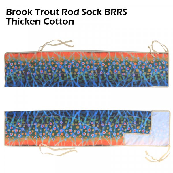 Brook Trout Rod Sock BRRS thicken cotton