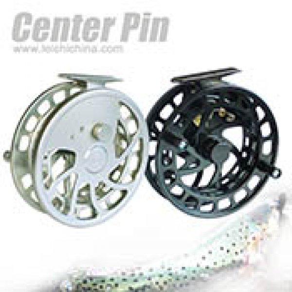 Machine cut CNC center pin floating fly fishing reel GS