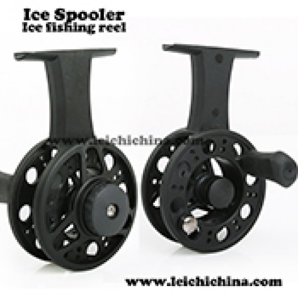 plastic ice spooler ice fishing reel