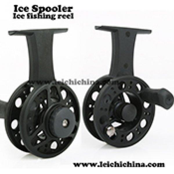 plastic ice spooler ice fishing reel