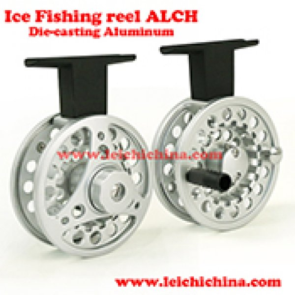 aluminum ice fishing reel