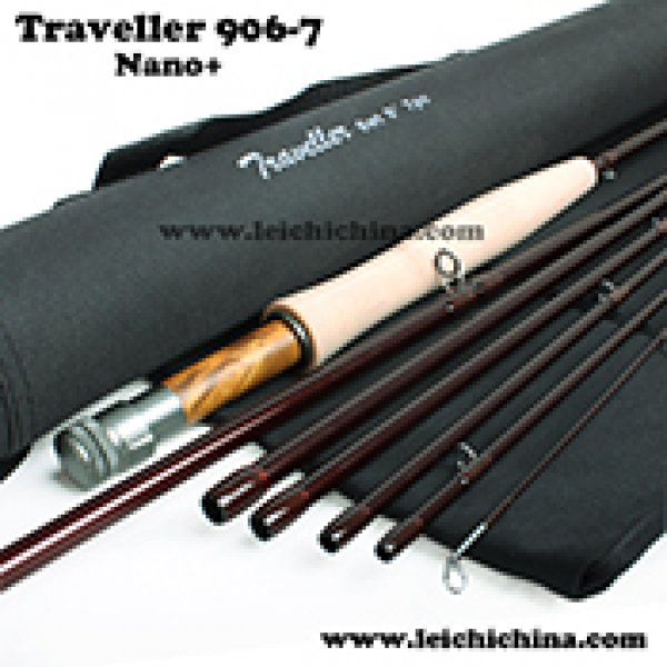 IM10 30T+36T Toray carbon Traveller fly rod 906-7