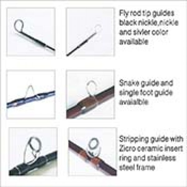 Fly rod guides