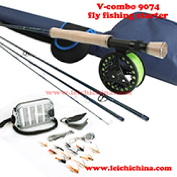 Fly fishing starter combo V-combo 9074