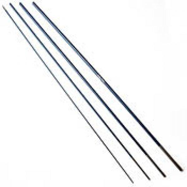 Carbon fly rod blank