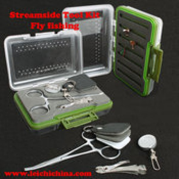 fly fishing streamside tool kit