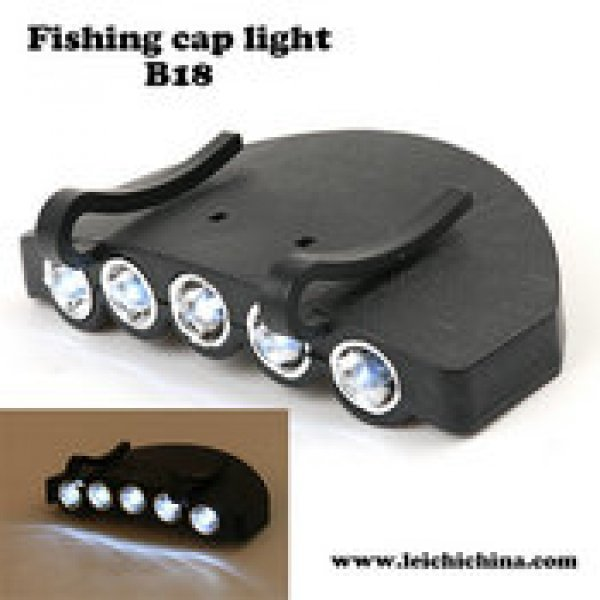 fishing cap light B18