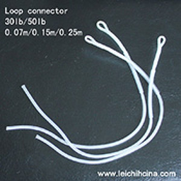 Nylon braided loop connector