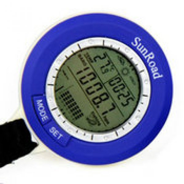 Digital fishing barometer