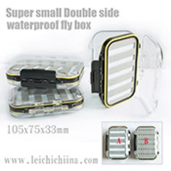 Super small Double side waterproof fly box
