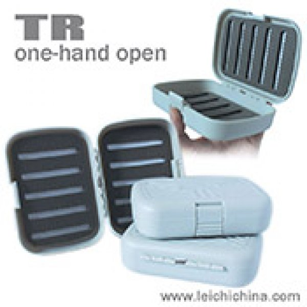One hand open smart fly box TR