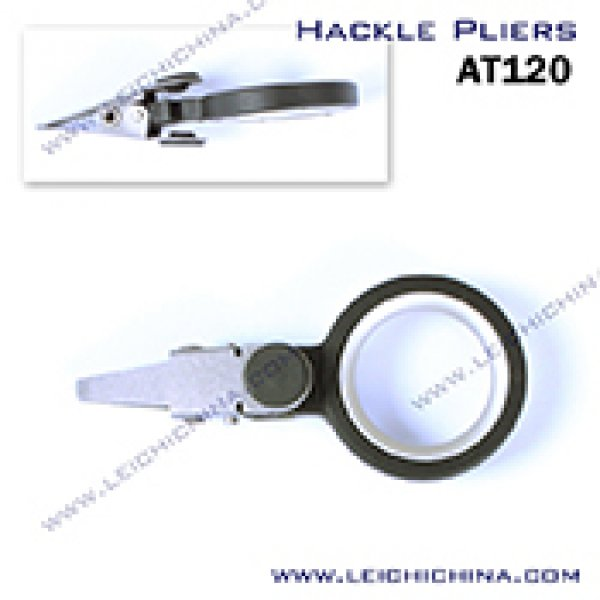 Fly tying hackle pliers AT120