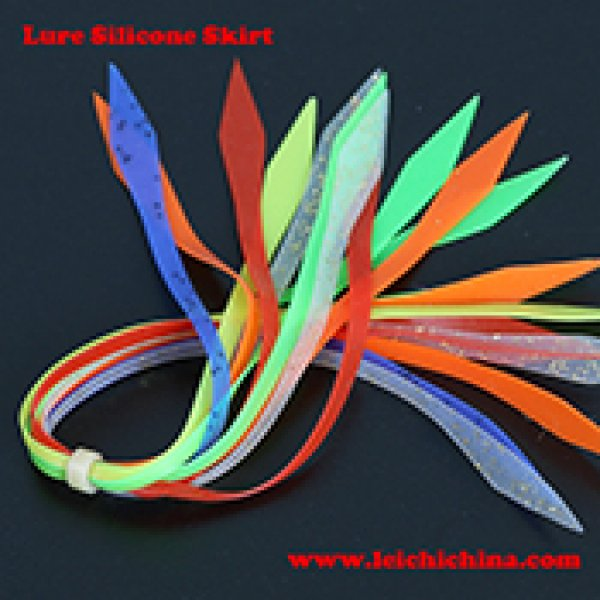 Fishing lure silicone skirt