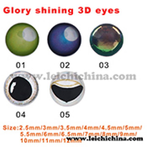 Glory shining 3D eyes