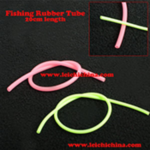 Fishing rubber tube