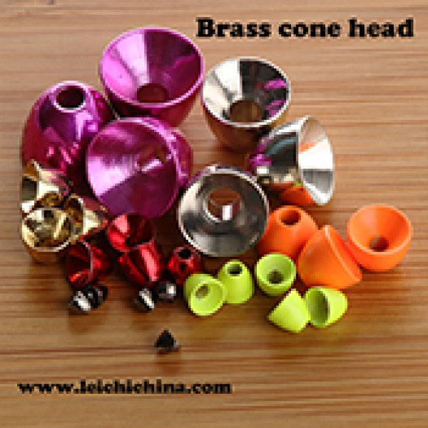 Brass cone head for fly tying