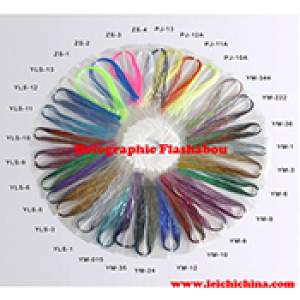 Fly tying yarn Holographic Flashabou