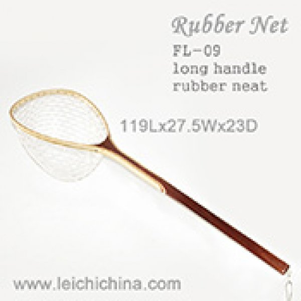 Extra long handle landing net FL-09