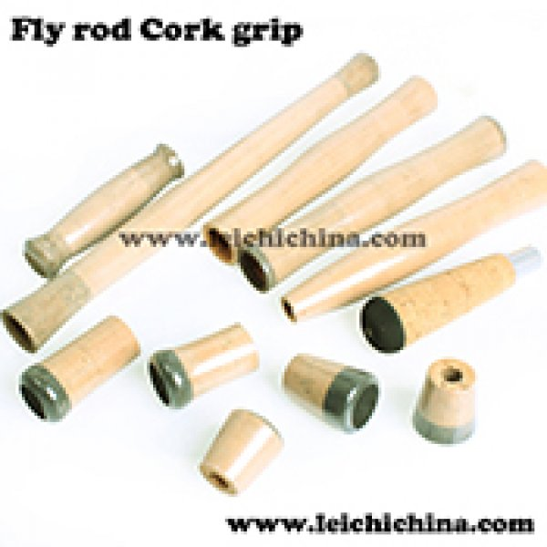 Fly fishing rod cork grip