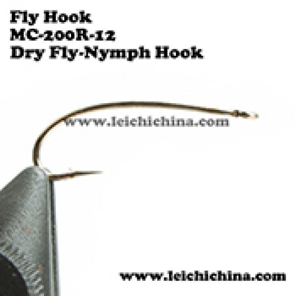 fly tying hook Dry Fly Nymph Hook MC-200R