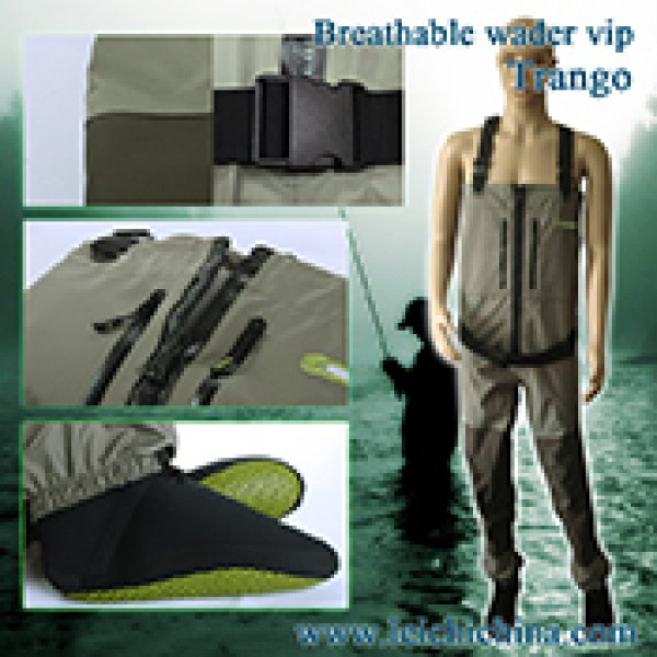 Fly fishing breathable wader Trango Zip