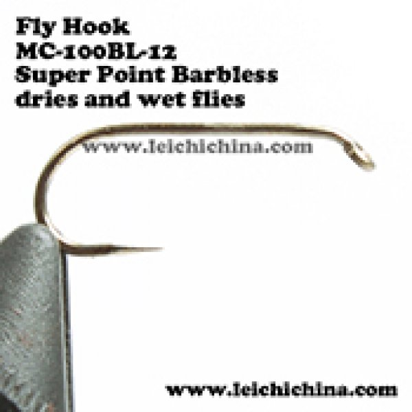 Fly fishing hook Super Point Barbless MC-100BL