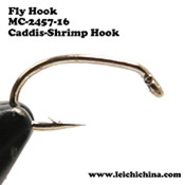 Fly tying hook Caddis-Shrimp Hook MC-2457