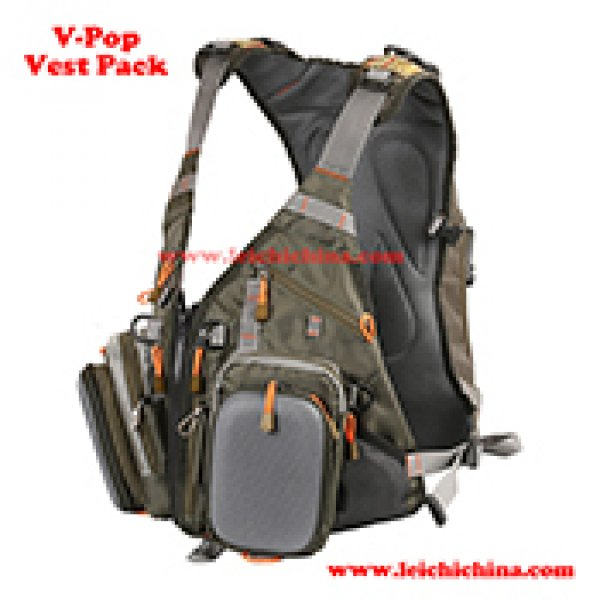 fly fishing V-pop vest pack