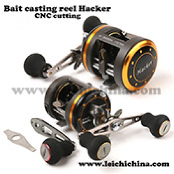 CNC cutting bait casting reel Hacker5000