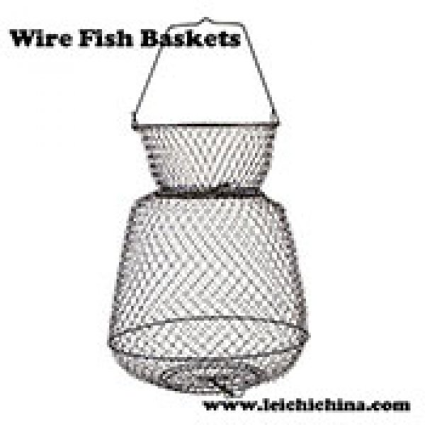 Collapsible Wire Fish Baskets