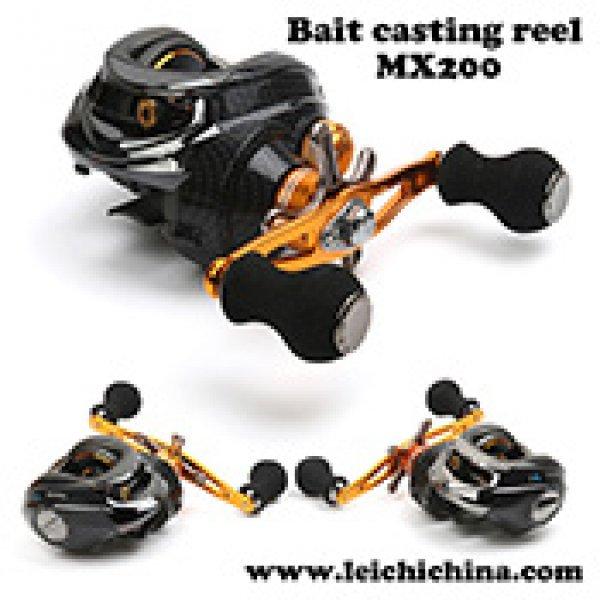 low profile bait casting fishing reel MX200
